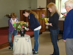Flower Communion service